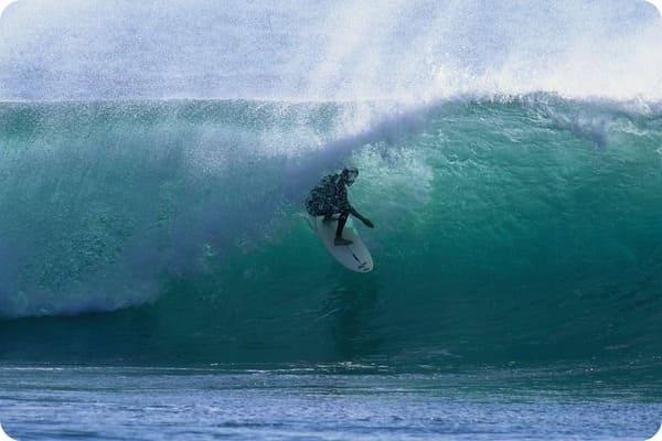 サーフィンもできる