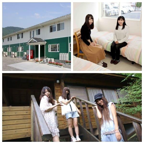秩父自動車学校の宿舎はおしゃれな専用宿舎とコテージ