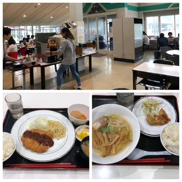 食堂と食事例