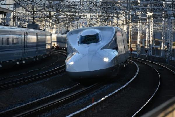 新幹線を使用すれば短時間で合宿参加できる