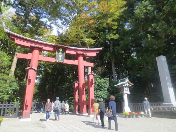有名な弥彦神社