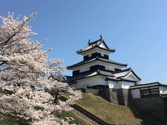 日本100名城「小峰城」