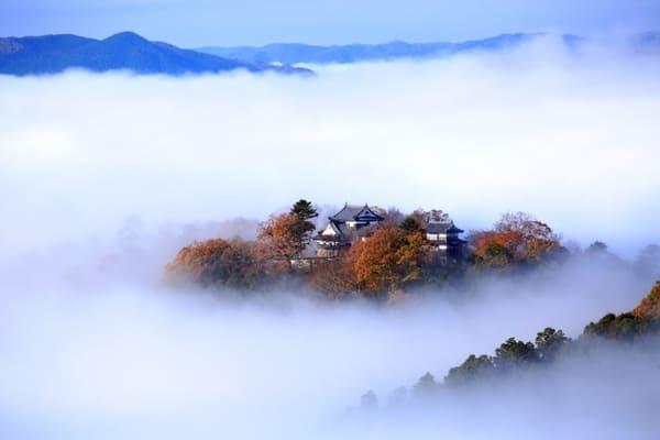 天空の城「備中松山城」